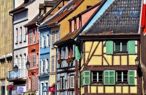 Bautenfarben Fachwerkhäuser