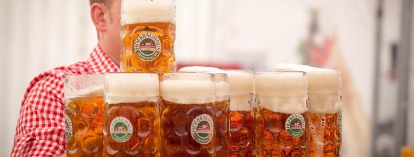 Bierabweisende Beschichtung Maßkug