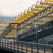 Korrosionsschutz von Stahl Beschichtung Parkhaus und Überdachung