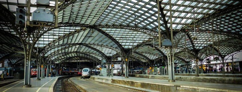 Korrosionsschutz von tragender Stahlkonstruktion im Kölner Hauptbahnhof