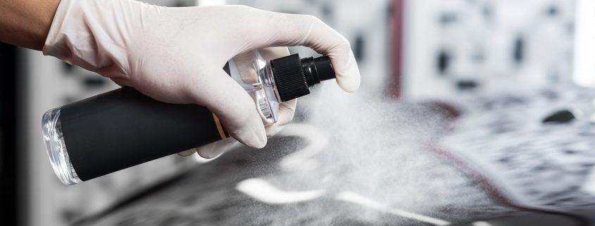 Pumpspray Nanoversiegelung Auto für Lack mit Lotuseffekt