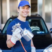 Professionelle Nanoversiegelung Auto bei der Werkstatt