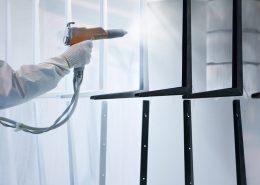 Weiße Pulverbeschichtung Preise von Metallprofilen