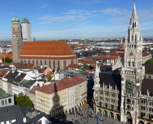 Pulverbeschichtung Frauenkirche München