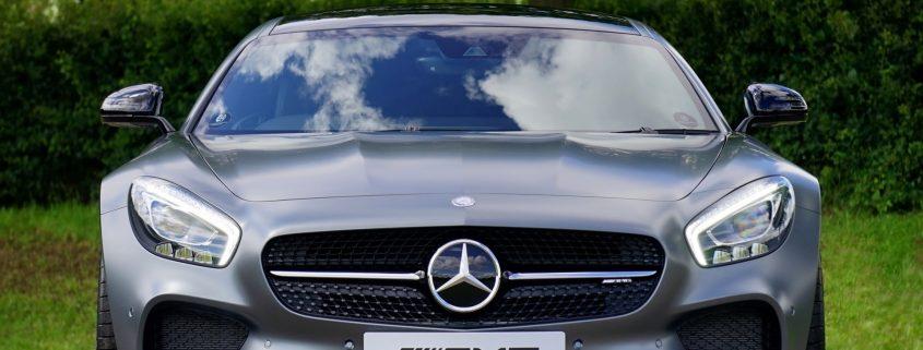 Autolacke und Autobeschichtung Mercedes AMG Sportwagen