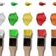 Dekorative Farben und Lacke