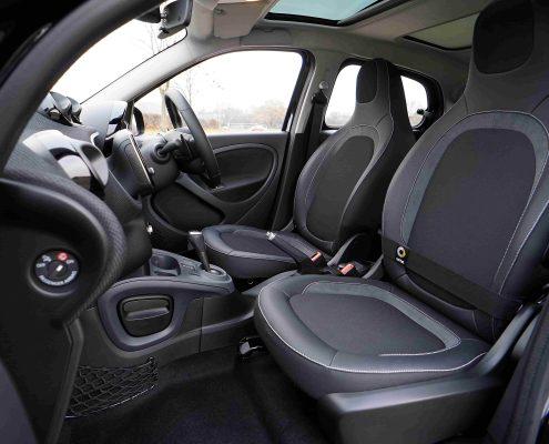 Kunststoffbeschichtung für die Innenausstattung von Autos Smart