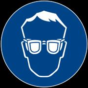 Ausrüstung und Hilfsmittel im Beschichtungsbetrieb Schutzbrille DIN_4844-2