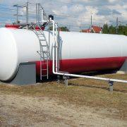 Tankauskleidung für Tanks von Heiz- und Brennstoffen