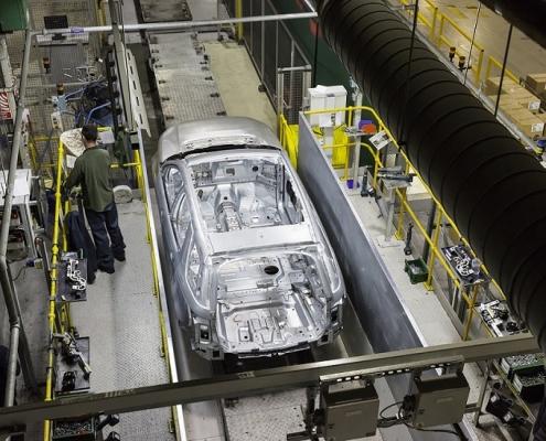 Pulverbeschichtung in der Automobilbranche