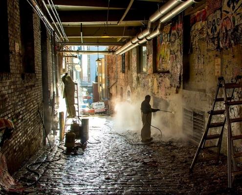 Anti Graffiti Beschichtung