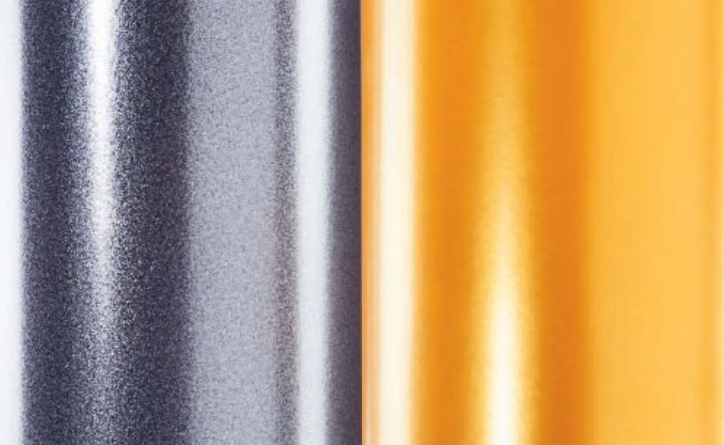 Pulverbeschichtung Metallic Candy Perlglanz