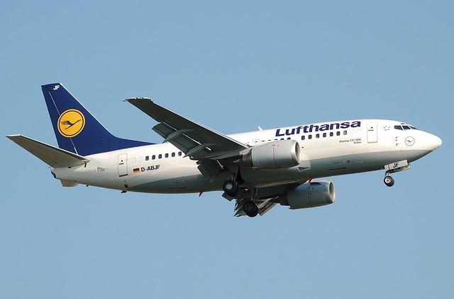 RAL 1028 Farbe Lufthansa