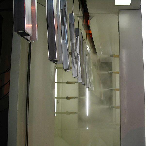 elektrostatische Pulverbeschichtung automatisch
