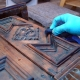 Abbeizer Holz