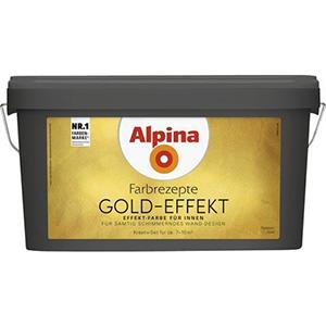 Alpina Farbrezepte Gold-Effekt