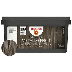 Alpina Farbrezepte Metall-Effekt