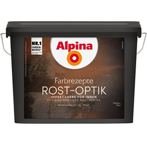 Alpina Farbrezepte Rost-Optik