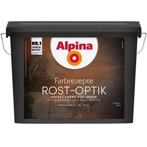 Alpina Farbrezepte Rost-Optik