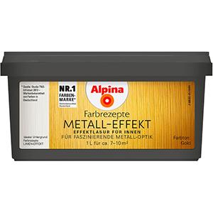 Alpina Metall-Effekt Gold