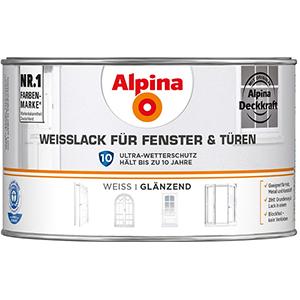 Alpina Weisslack für Fenster & Türen