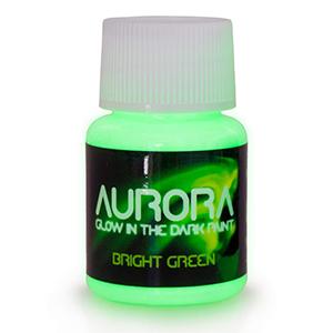 Aurora Im Dunkeln leuchtende Farbe