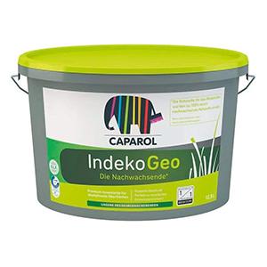 Caparol IndekoGeo E.L.F. Plus emissionsminimiert, lösemittelfrei, weichmacherfrei, konsrevierungsmittelfrei Bindemittel aus 100% nachwachsenden Rohstoffen