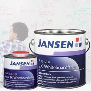 Jansen Aqua 2K-Whiteboardfarbe
