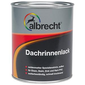 Albrecht Dachrinnenlack kupfer seidenmatt