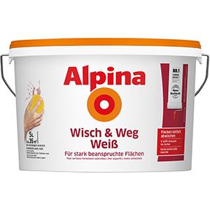 Alpina Wisch & Weg Weiß