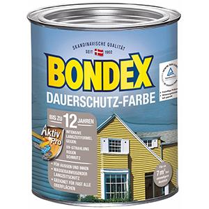 Bondex Dauerschutz-Farbe taubenblau seidenglänzend 750 ml