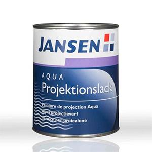 Jansen Aqua Projektionslack weiß