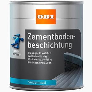 OBI Zementbodenbeschichtung