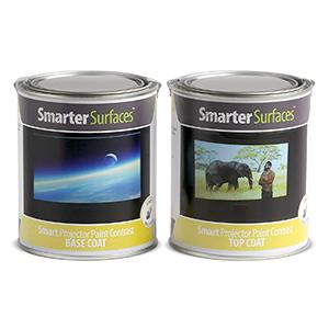 Smart Projektor Farbe Kontrast grau