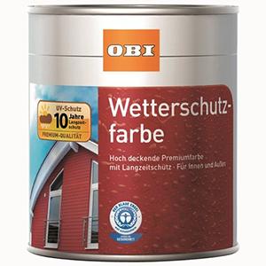 OBI Wetterschutzfarbe