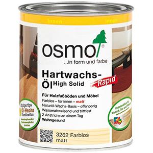 Osmo Hartwachs-Öl Rapid farblos