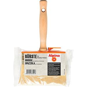 Alpina Bürste für Struktur-Farben
