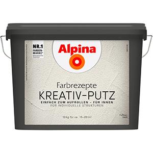 Alpina Farbrezepte Kreativ-Putz Rollputz