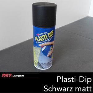 Plasti Dip Flüssiggummi Spray Schwarz matt