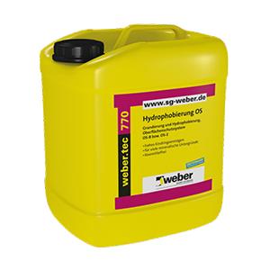 Weber tec 770 Hydrophobierung OS